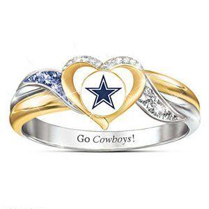 Dallas Cowboys Ring Size 8 1/2